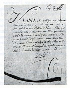 lettre cachet