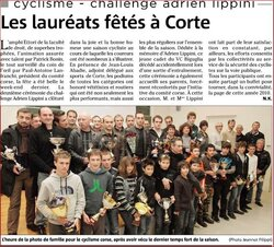 CEREMONIE REMISE DES TROPHEES ADRIEN LIPPINI 2011