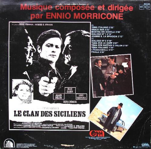 LE CLAN DES SICILIENS - ALAIN DELON BOX OFFICE 1969