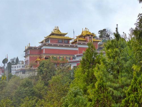le temple bouddhiste de Dhulikhel (Namo Bouddha)