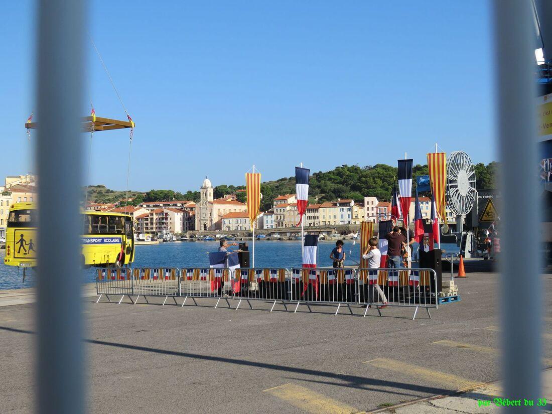 rencontre imprévu à Port-Vendres