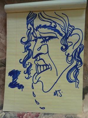 Ses dessins et peintures