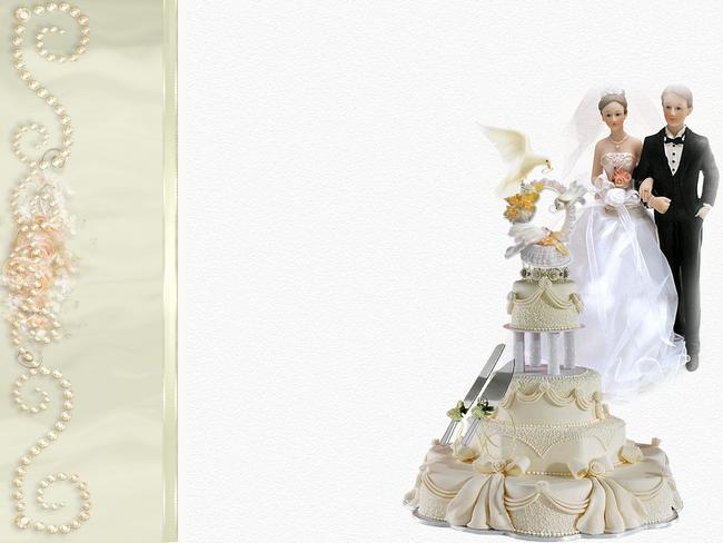 Invitation de mariage psd