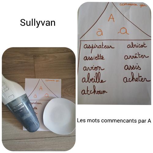 Sullyvan et le son [a]