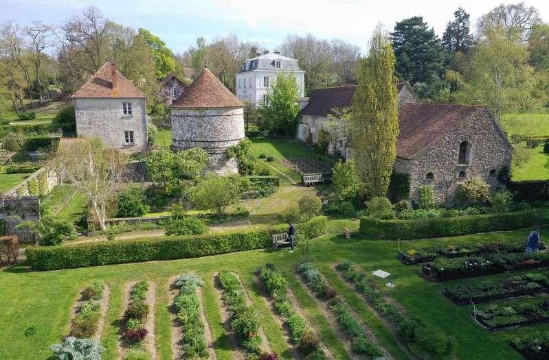 Le Jardin de Campagne à Grisy-les-Plâtres (Val-d'Oise).