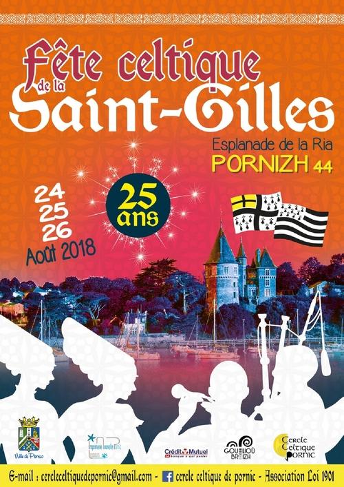 Pornic, Fête de la Saint Gilles - 2018