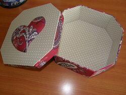 Boites octogonales