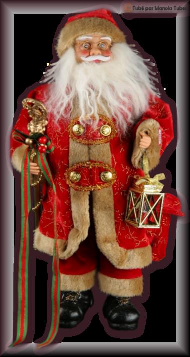 Tube figurine de Noel 2946