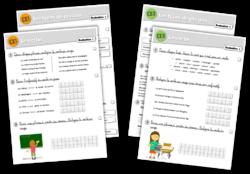 Plan de travail CE1-CE2 - Nouvelles évaluations
