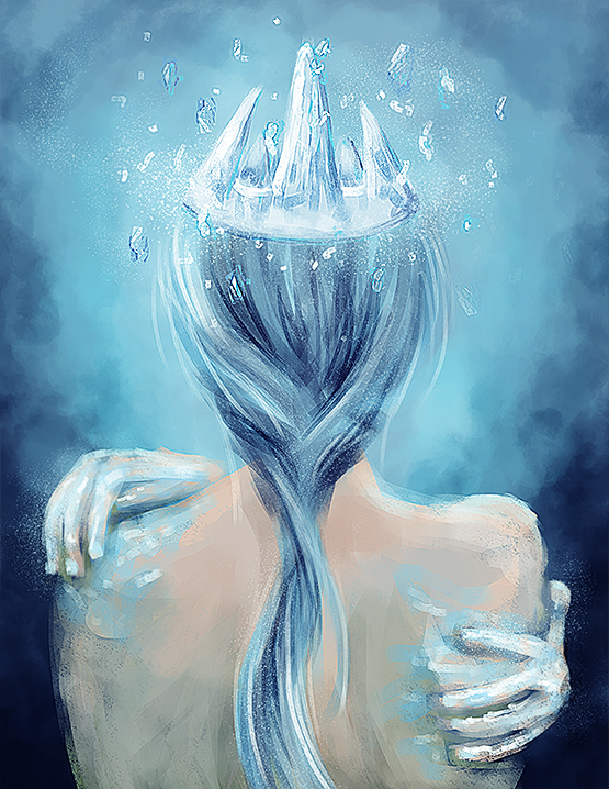Ice Queen [speed painting]