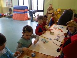 Karnavalsfeier mit dem Kindergarten Bruchwiese