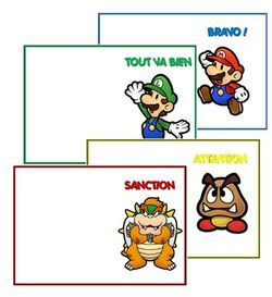 Thème de classe - le monde de Mario