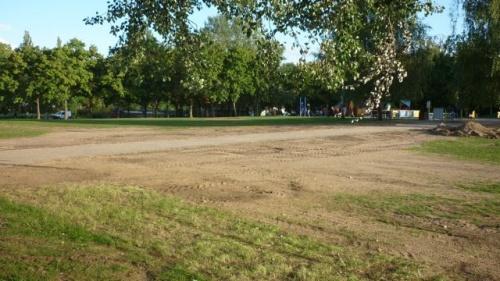 La pelouse n'aime pas Metz Plage (28 août 2011)