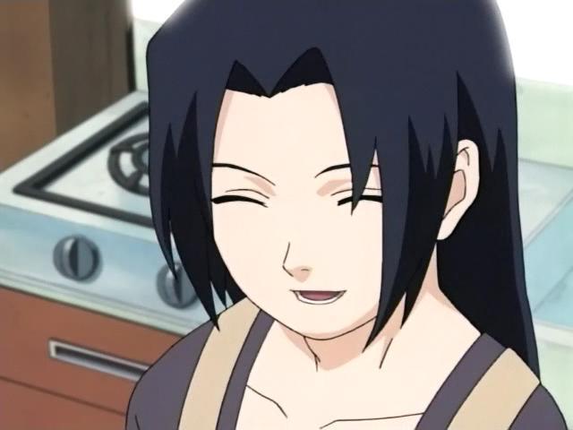 La mère de sasuke