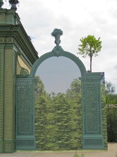 Versailles Trianon pavillon frais trompe-l'oeil 8