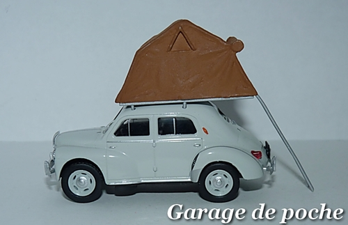 Renault 4cv Camping