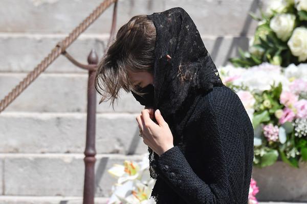 Funérailles de la baronne de Massy