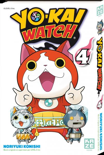 Yo-kai watch - Tome 04 - Noriyuki Konishi