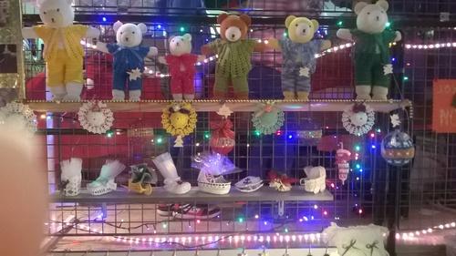Mon stand au marché de noël du Perray en Yvelines