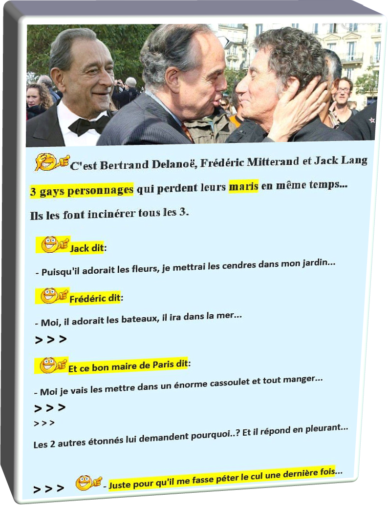Gays Personnages (Humour)