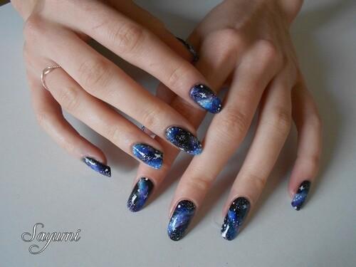 Nail Art Galaxy 2