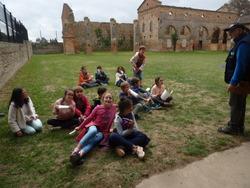 Les CM1 racontent les Médiévales de l'Abbaye de Belleperche !