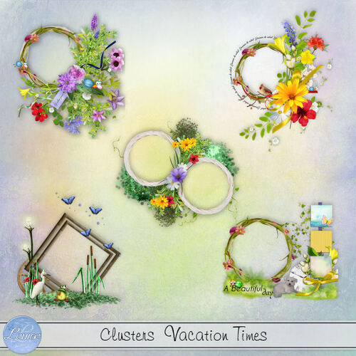 Addons, Clusters, Bordures Vacation Times