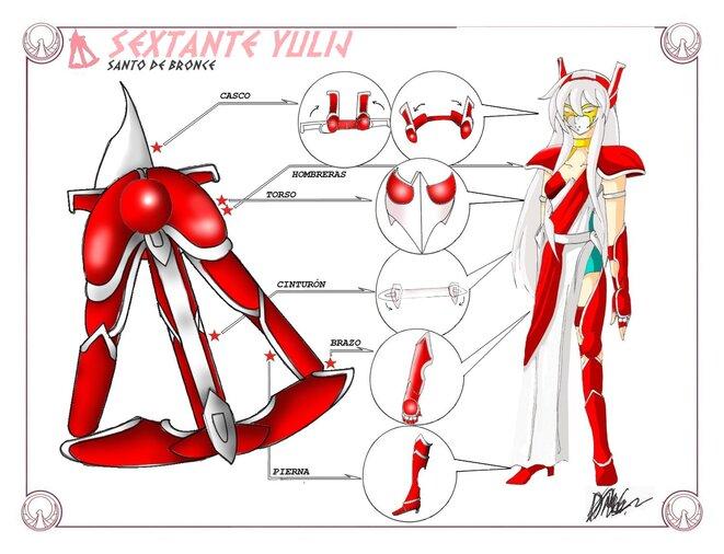 VI - Armure du Sextant (Sextans Cloth)