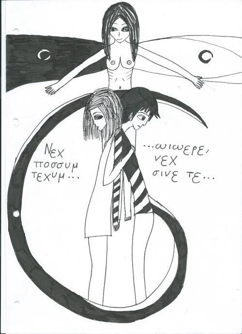 c'est la fin de tokyo ghoul, pour fêter ça...