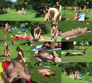 Naturist Freedom - Games at the Meadow. DVD.