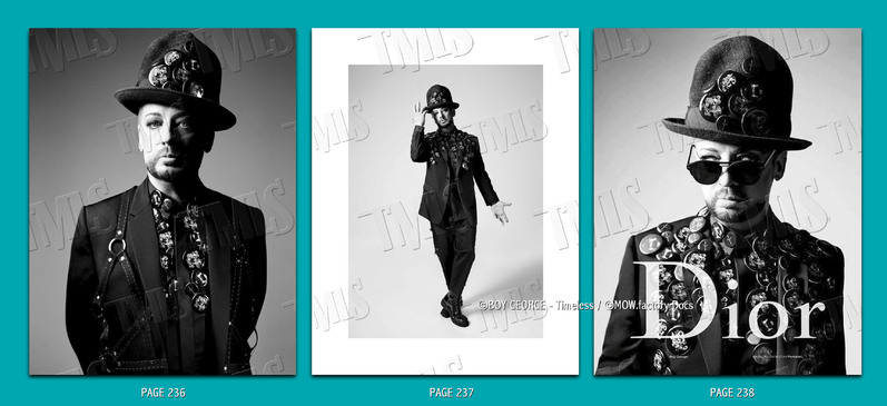 BOY GEORGE - 2016 - VOGUE HOMME N°25 Mars '17 - ©2016 Willy Vanderperre [Pic.]