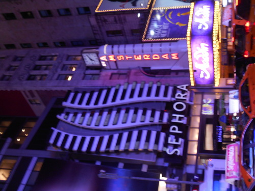 1er mArDi, RiBs à BrOaDwAy  New-York *4*