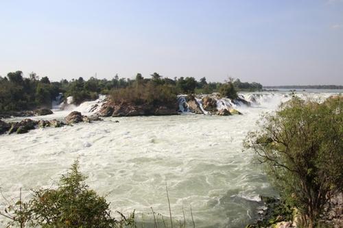 Les chutes de Lip Phi et de Phapheng au Laos