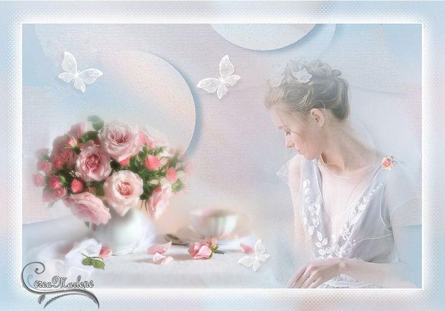 La rose d'amour