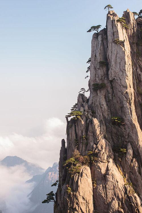 Les Huangshan (Montagnes jaunes)