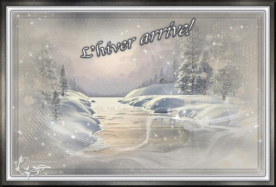 L'hiver arrive!