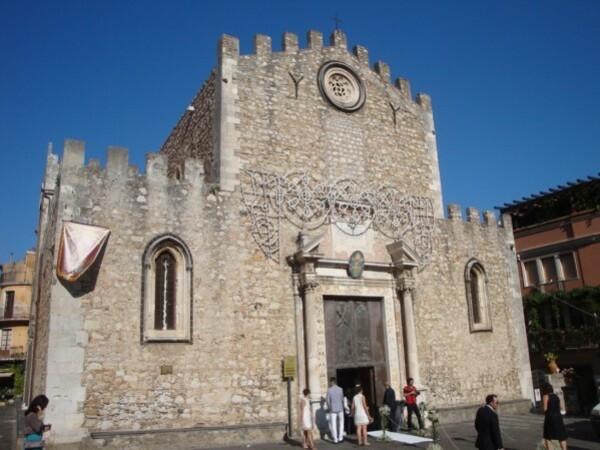 Taormina, mariage