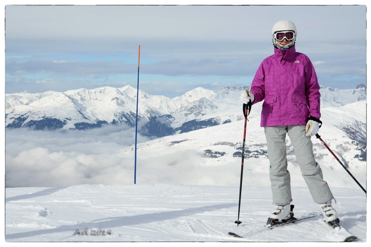 De retour du ski