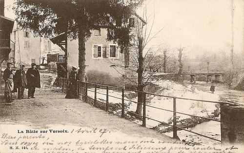 Le café des chasseurs à la Bâtie-sur-Versoix