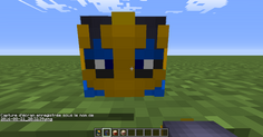 Minecraft, décoration Pokémon ! x)