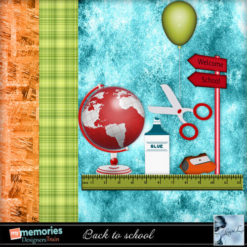 My Memories - Sept. Blog train Back to School
