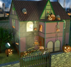Find the objects in halloween