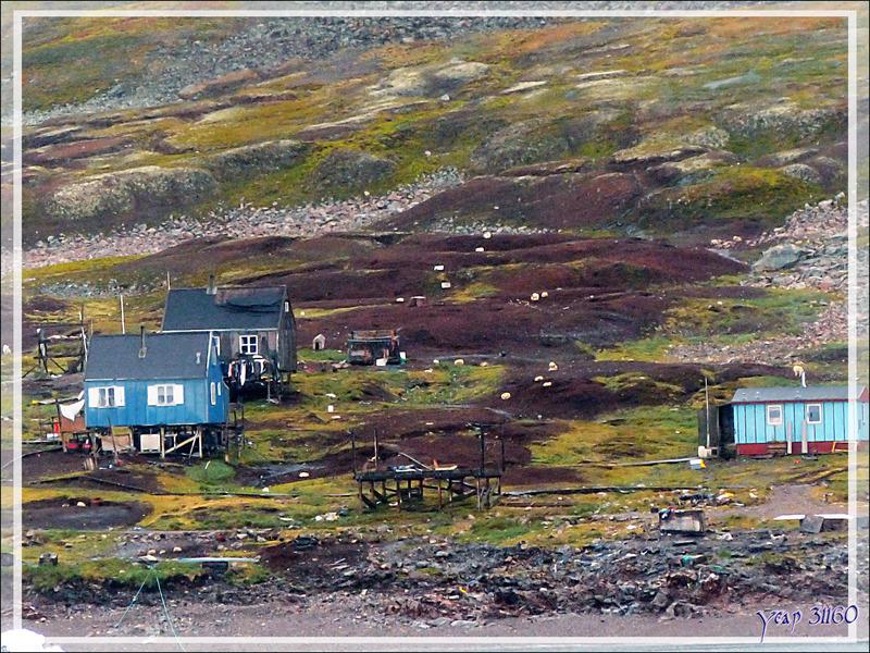 Derniers instants en face de Savissivik - Qaasuitsup - Baie de Melville - Groenland