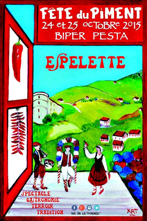 Fête du Piment Espelette 2015