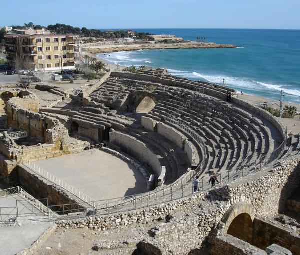 l'amphithéâtre romain de Tarraco (Tarragone) (DR)
