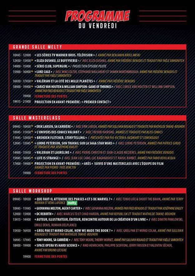 Demandez le programme du Comic Con Paris 2016 !