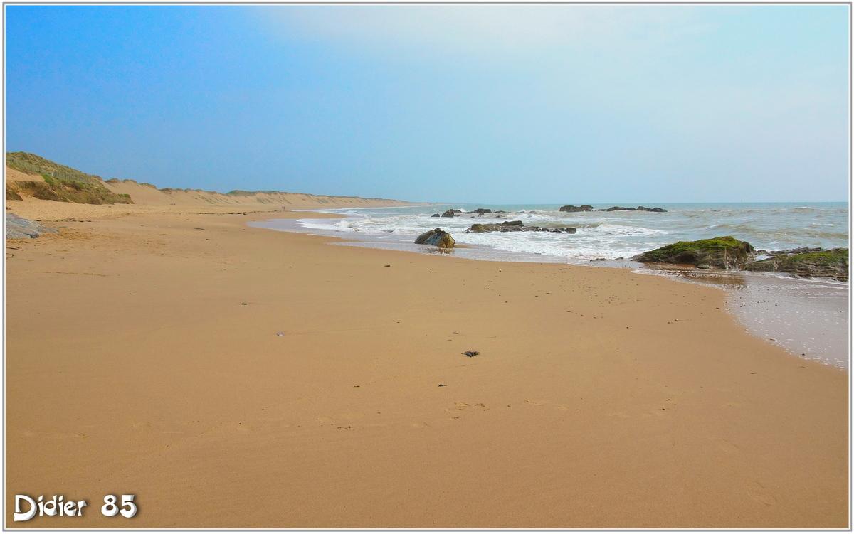 (85) Vendée - Olonne sur Mer (1) - Plage de Sauveterre