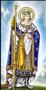 Aujourd'hui, c'est la fête de Saint-Louis-de-France NOTRE patron de l'OFS