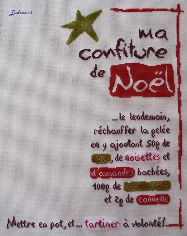 """Sal """"Ma confiture de Noël"""" - étape 3"""