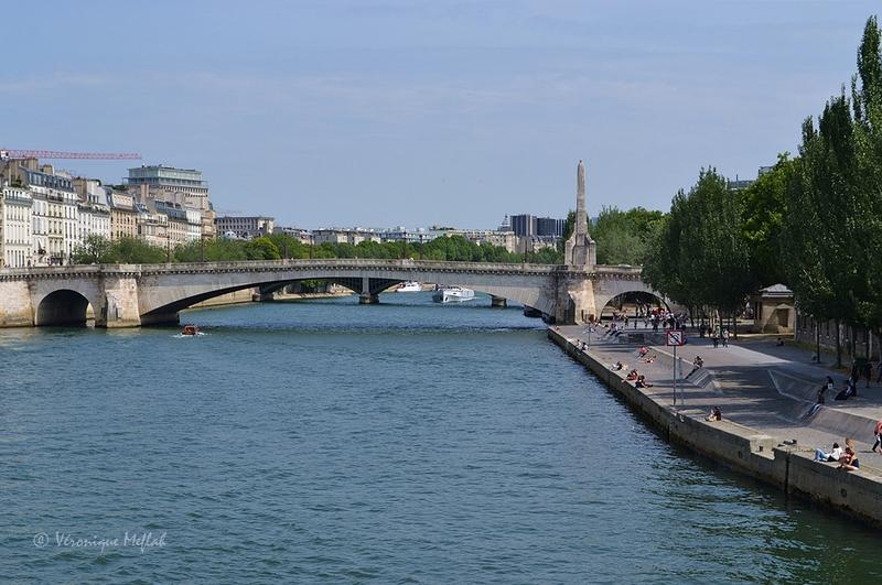 L'île de la Cité : Pont de la Tournelle